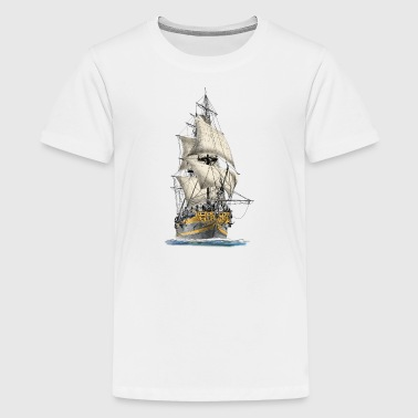 sailing ship - T-shirt Premium Ado