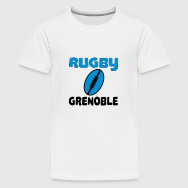 Rugby grenoble - Teenager Premium T-Shirt