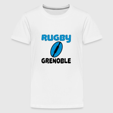 Grenoble Rugby grenoble - Teenager Premium T-shirt