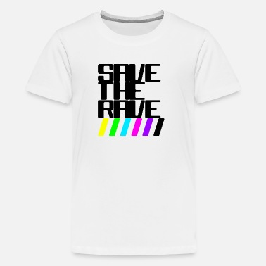 Rave Save the rave - Teenager Premium T-Shirt