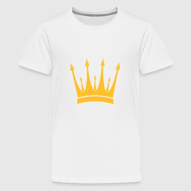 corona / rey / Crown / King - Camiseta premium adolescente