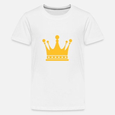 Prince Corona Crown King Krone König Couronne Roi Corona Kroon - Teenage Premium T-Shirt