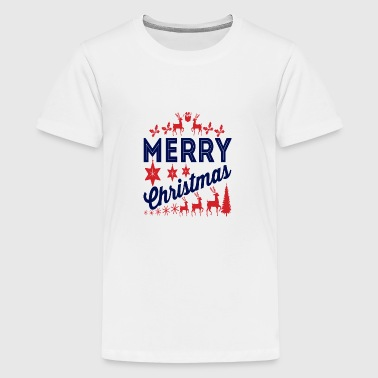 God jul, god jul - Premium-T-shirt tonåring