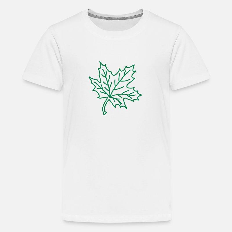 Feuille d/'érable Canada Enfants T-shirt