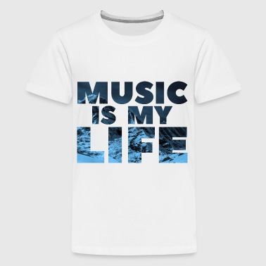 Musik | Winter Edition - Teenager Premium T-Shirt
