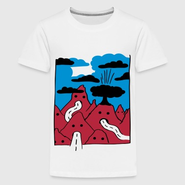 Vulcano - Teenager Premium T-Shirt