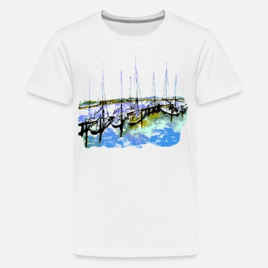 Segelboote Shirt - Teenage Premium T-Shirt