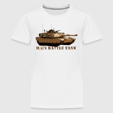 M1 Abrams - Teenager premium T-shirt