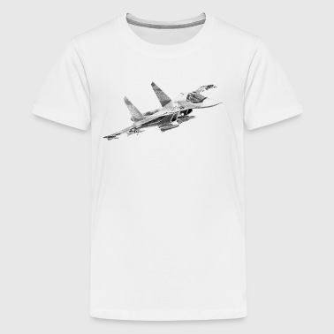 Sukhoi Su-34 - Teenager Premium T-Shirt