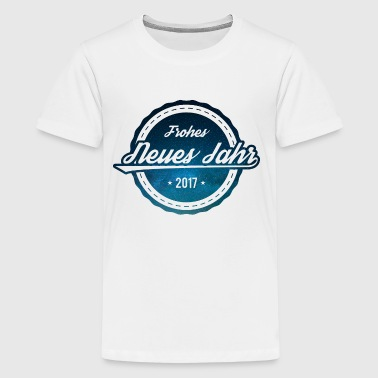 Neujahr - Teenager Premium T-Shirt
