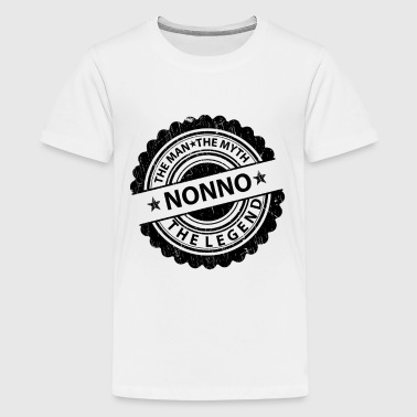 Nonno-The Man The Myth The Legend  - Teenage Premium T-Shirt