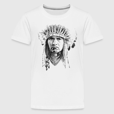 Indian - Teenager Premium T-shirt