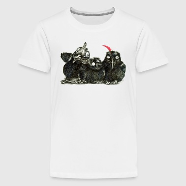 ravnene - Teenager premium T-shirt