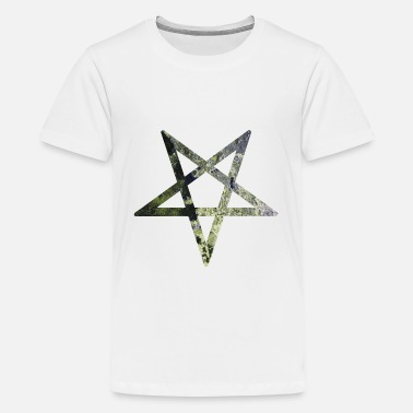 Rust Pentagramm / pentagram / rost / rust - Teenager Premium T-Shirt