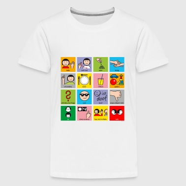 Minivokabular - Teenager Premium T-Shirt