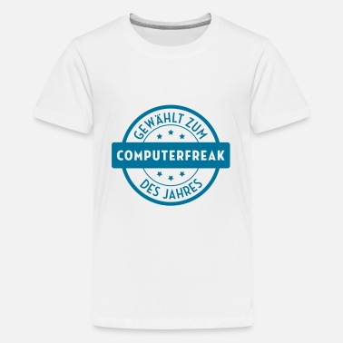 Tekki Geek - Tekkie - Computerfreak - Computer Freak - Teenager Premium T-Shirt