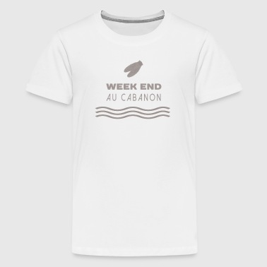 Week end au cabanon - T-shirt Premium Ado