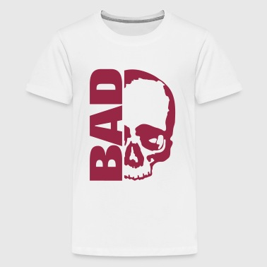 Skull Bad Vektor / skull bad - Teenager Premium T-Shirt
