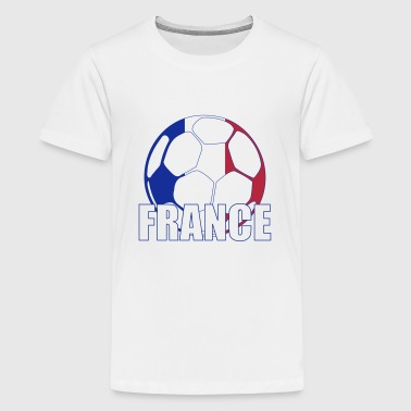 France - Camiseta premium adolescente
