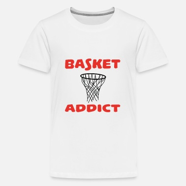 Basket Basket addict - Teenager Premium T-shirt