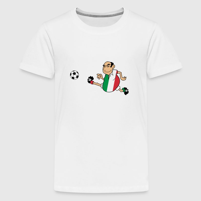 Italian footballers - Teenage Premium T-Shirt