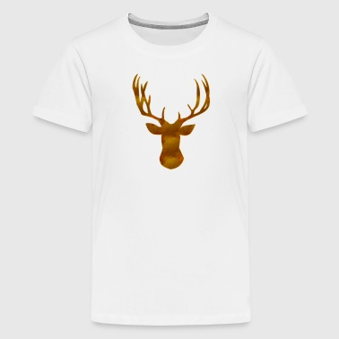 Hjorte - Teenager premium T-shirt