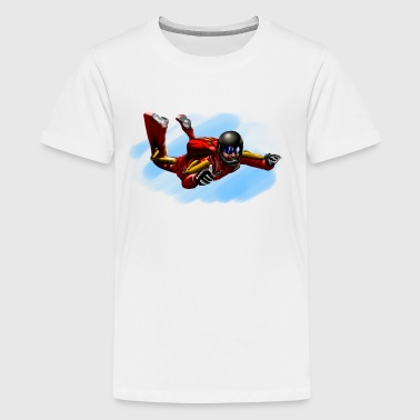 skydiver - Teenager Premium T-Shirt