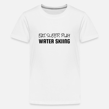 Ski Nautique Water Skiing - Wasserski - Ski Nautique - Sport - Teenage Premium T-Shirt