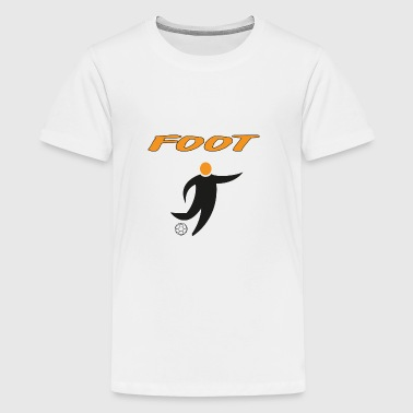 FOOT - Teenage Premium T-Shirt