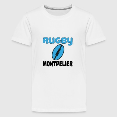 Rugby montpellier - Premium-T-shirt tonåring