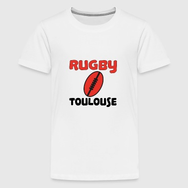 Rugby toulouse - Teenage Premium T-Shirt