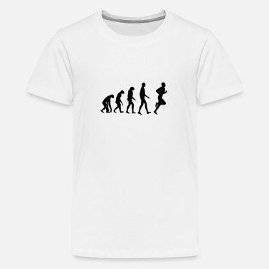 Funny Running Running / Jogging / Run / Trail / Sport - Teenage Premium T-Shirt