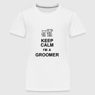 Grooming Pet Groomer Hundefriseur Toilettage Mugs & Drinkware - Teenage Premium T-Shirt