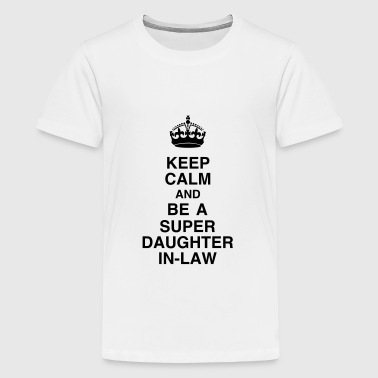 Daughter-in-law / Daughter in law Marriage Family - Teenage Premium T-Shirt