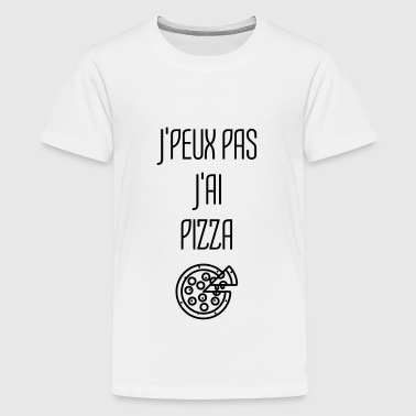 Hamburger Fast Food Burger Pizza Frites Gras - T-shirt Premium Ado