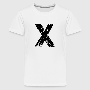 X Stencil - Teenager Premium T-Shirt