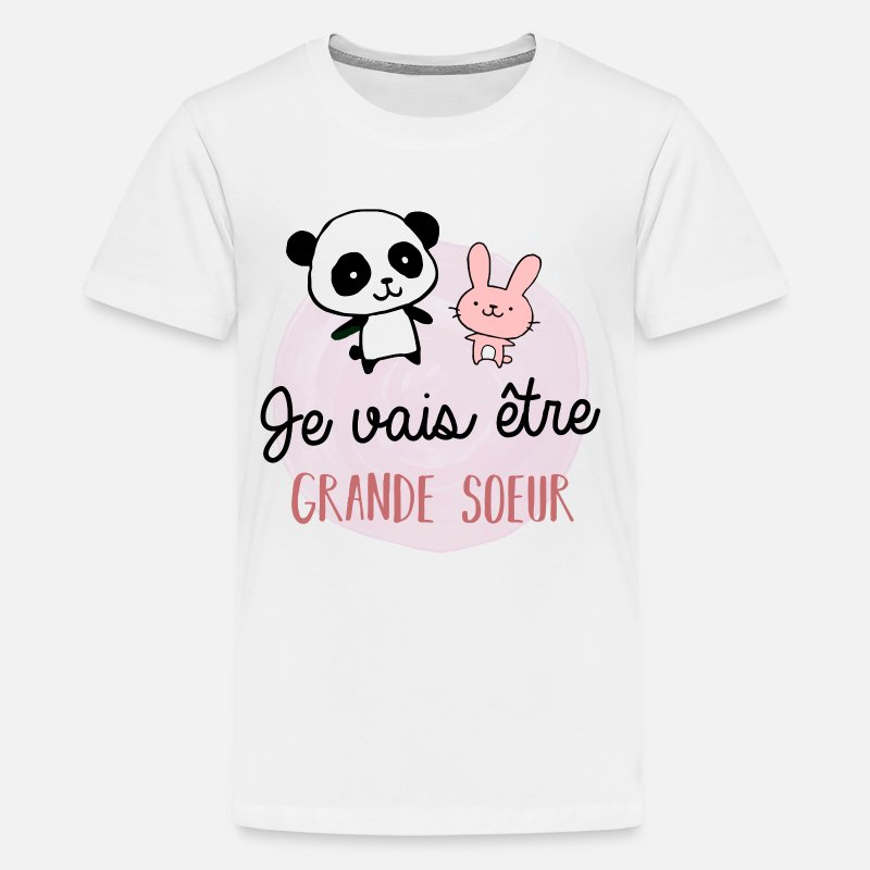 Future Grande Sœur Bientôt Grande Sœur T Shirt Premium Ado