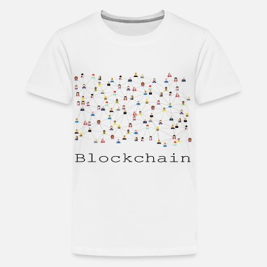Connector Blockchain - Teenager Premium T-Shirt