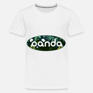 Panda jungle - T-shirt premium Ado