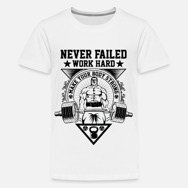 Never failed work - Teenage Premium T-Shirt