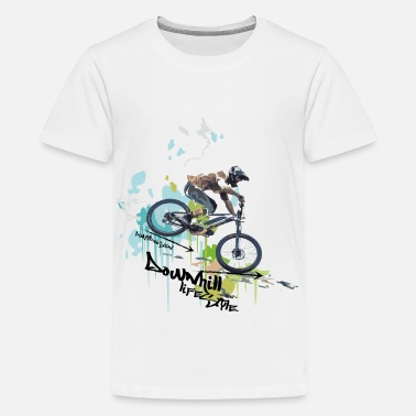Lifestyle DOWNHILL - LIFESTYLE - Teenager Premium T-Shirt