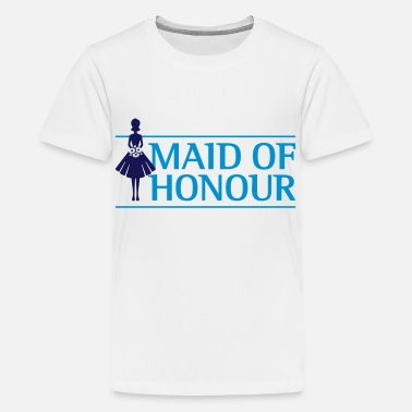 Maid Of Honor The maid of honor - Teenage Premium T-Shirt