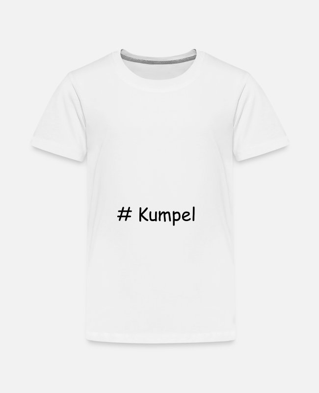 Mate T-Shirts - Kumpel - Teenager Premium T-Shirt Weiß