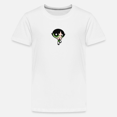 Powerpuff Girls Buttercup Small - Teinien premium t-paita