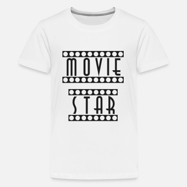 Hollywood Movie Star Movie Celebrity Hollywood Carpet - Teenager premium T-shirt