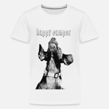 happy camper - Teenage Premium T-Shirt