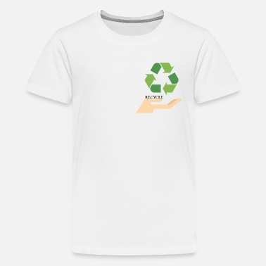 Recycling Recycling - Teenage Premium T-Shirt