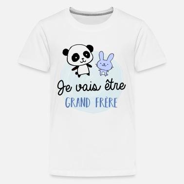 T shirt Grand frère à commander en ligne   Spreadshirt