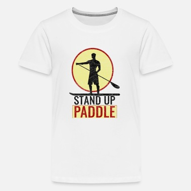 Paddelboot Paddelboot - Teenager Premium T-Shirt