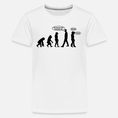 Yolo Swag evolutie - Teenager premium T-shirt